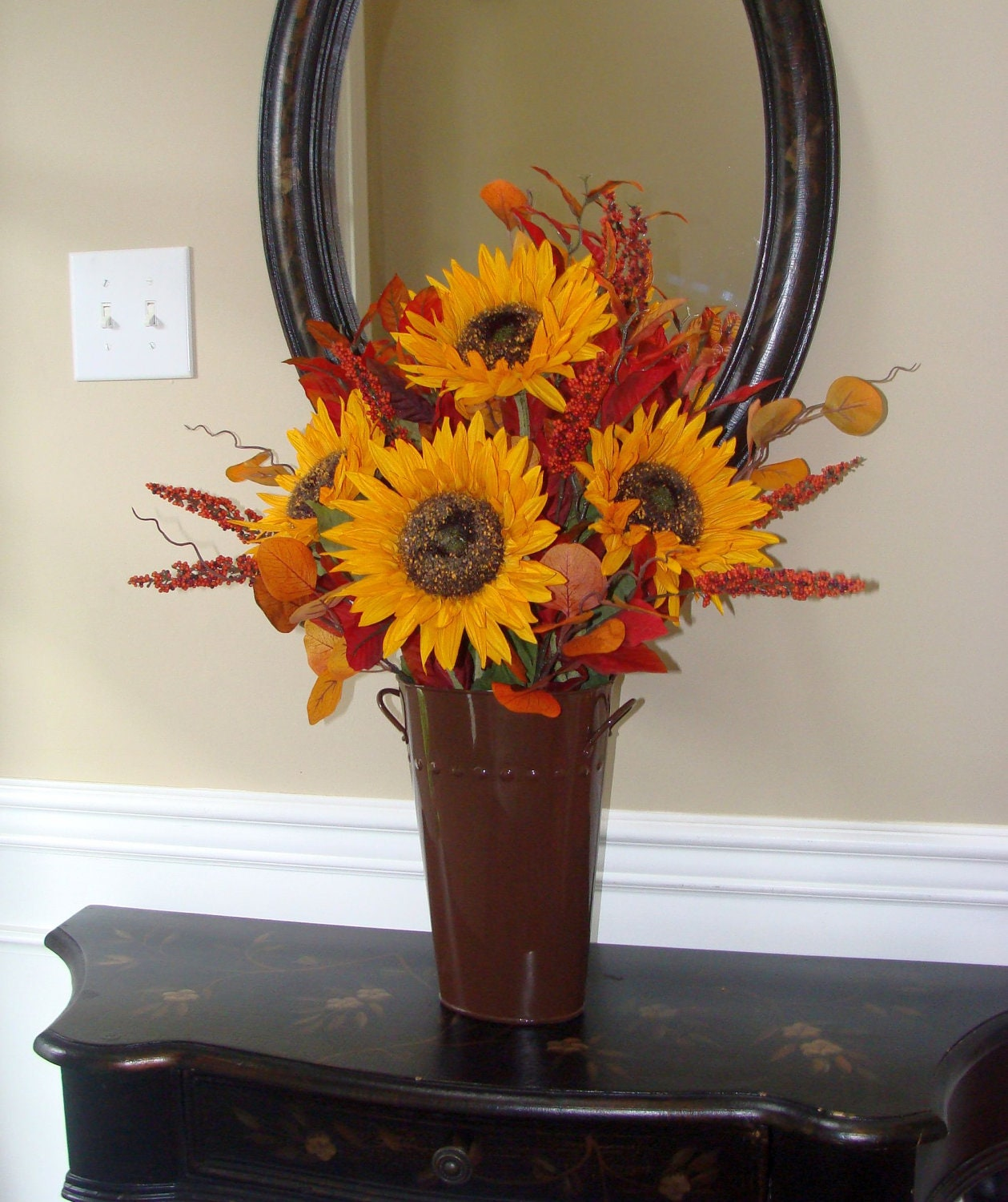 fall mantle arrangement photography - photo #33