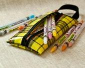 SALE Boys Oilcloth Pencil Case Toiletry Bag