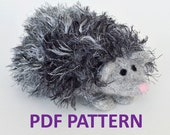 Knitting Pattern for Herbie the Hedgehog