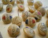 Buttons Vintage Miniature