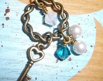 APRIL SALE Mother Birthstone Necklace Up to 5 Swarovski Crystal
