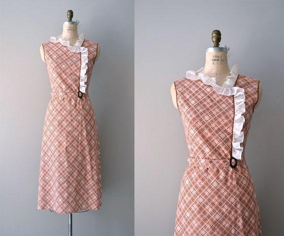 1930s dress / vintage 30s dress / Shilly-Shally dress