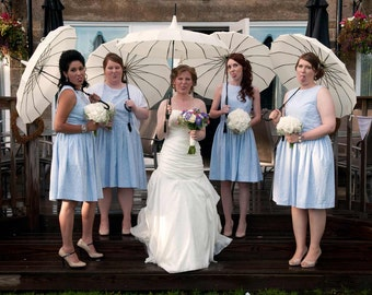 Cotton Bridesmaid Dresses for Your Wedding / Custom / Made to Order / Vintage Inspired / Mix and Match Styles / Many Colors / Rustic