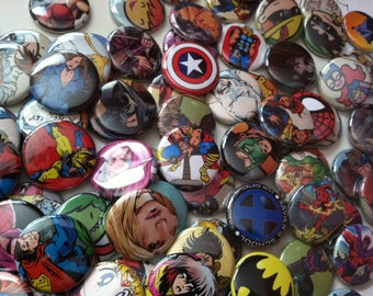 15 Random 1inch buttons