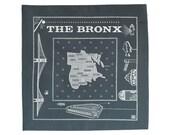 Bronx bandanna - gray