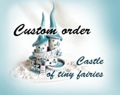 Custom order for Nancy -  Castle of the White Witch