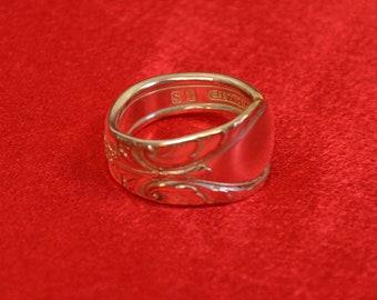 Ornate Spoon Ring