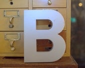 Industrial Style Letter B
