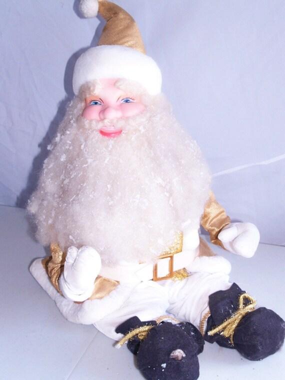 BIG Santa Clause Store Decoration Harlod Gale Retro Christmas Holiday Saint Nick