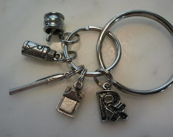 Pharmacy Pharmacist RX Keychain