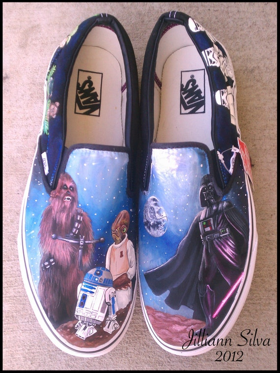 STAR WARS  - Made to Order - Classic Toms or Vans! (PLEASE read before ordering)