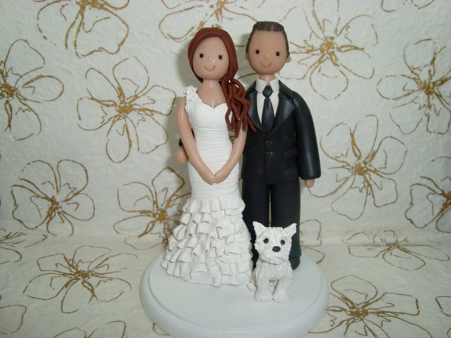 personalized wedding cake toppers bride and groom