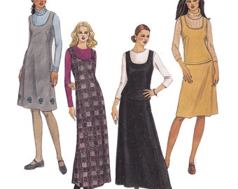 Jumper Sewing Pattern - Size 12, 14, 16 - McCalls 2909 - Uncut, Factory Folds