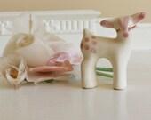 Petite Ceramic Deer