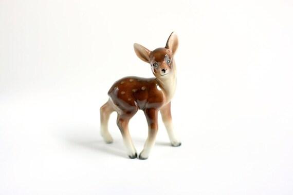 Vintage Porcelain Deer