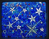 Sea of Stars Mosaic Window
