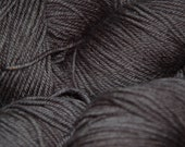Studio June Yarn Andrea Mae DK, Superwash Merino, DK/Light Worsted Weight, Color:  Deep Charcoal