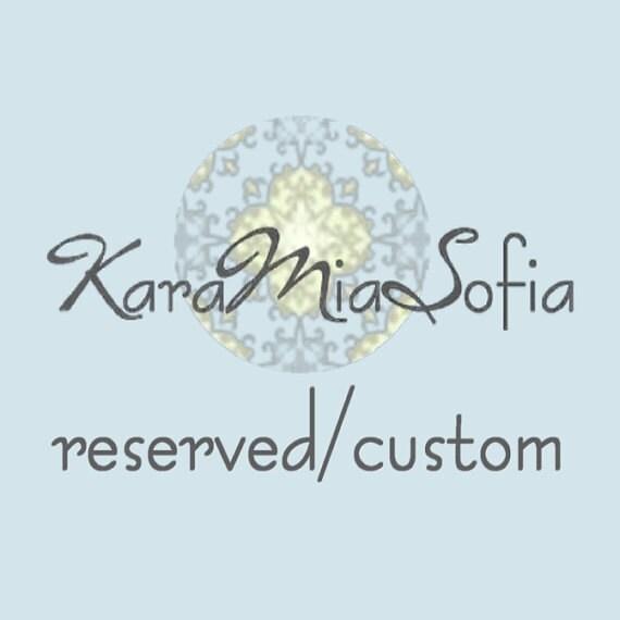 Custom listing for Sam / (8) Jenna Clutches for Bridesmaids / (Balance)