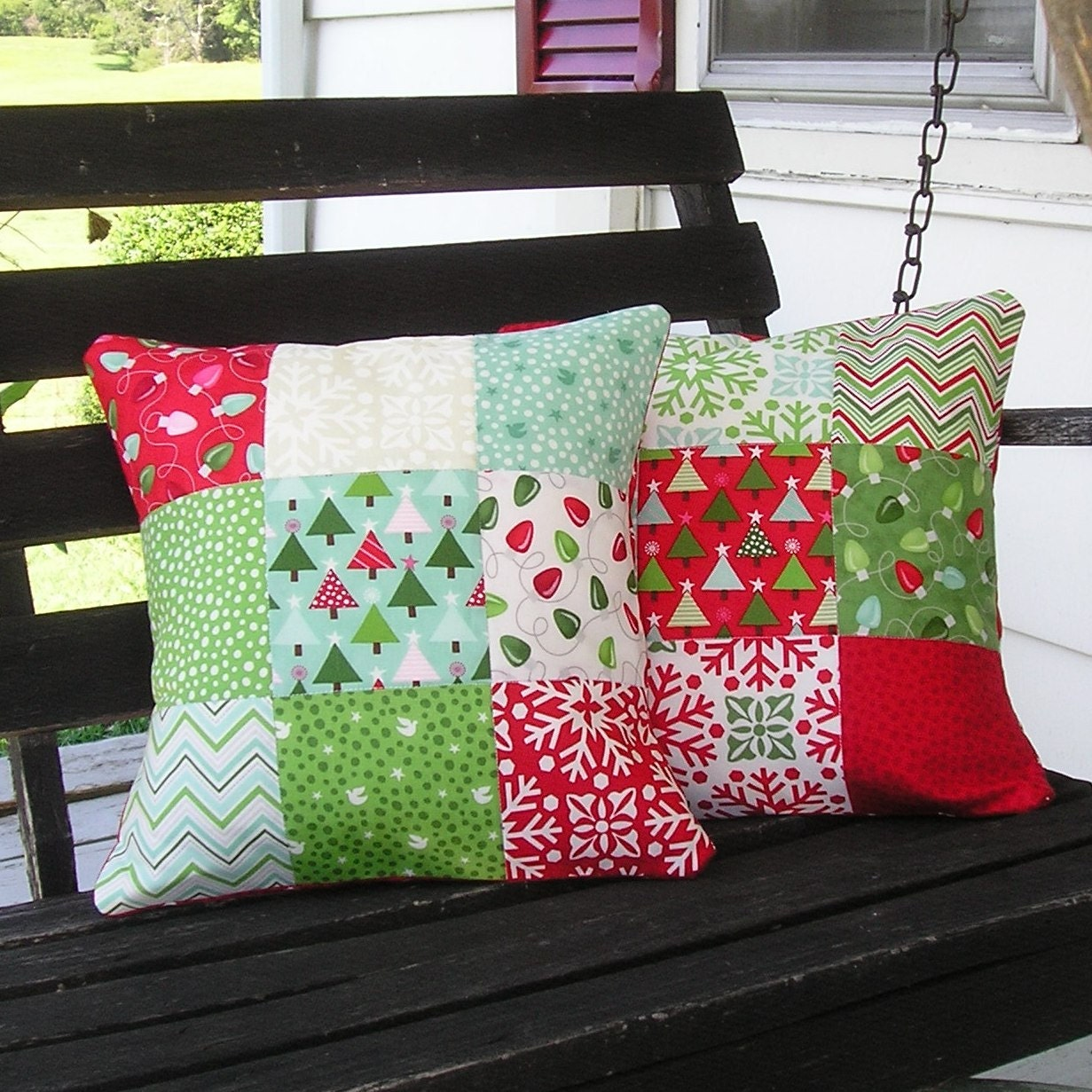 Quilt Christmas Stocking