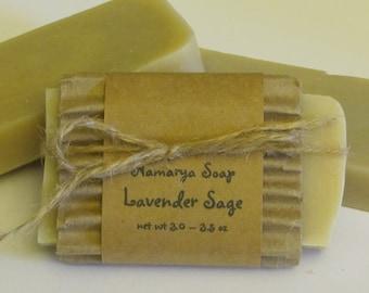 Lavender Sage Cold Process Soap