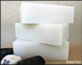 Organic Unscented Sensitive Skin Moisturizing Cold Process Handmade Soap Bar | Suitable for Babies | Simply Pure | Vegan | No Gluten - 4 oz