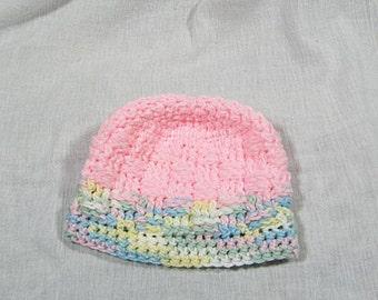 325 - Pink Variegated Hat