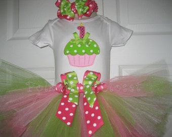 Boutique Birthday tutu set