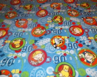 Bob the Builder Fleece Throw Blanket