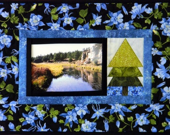 Pop Photos In & Out - Snapshot Wall Hanging - Paper Pieced - PDF Pattern