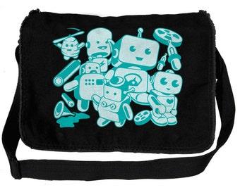 Little Robots Messenger Bag