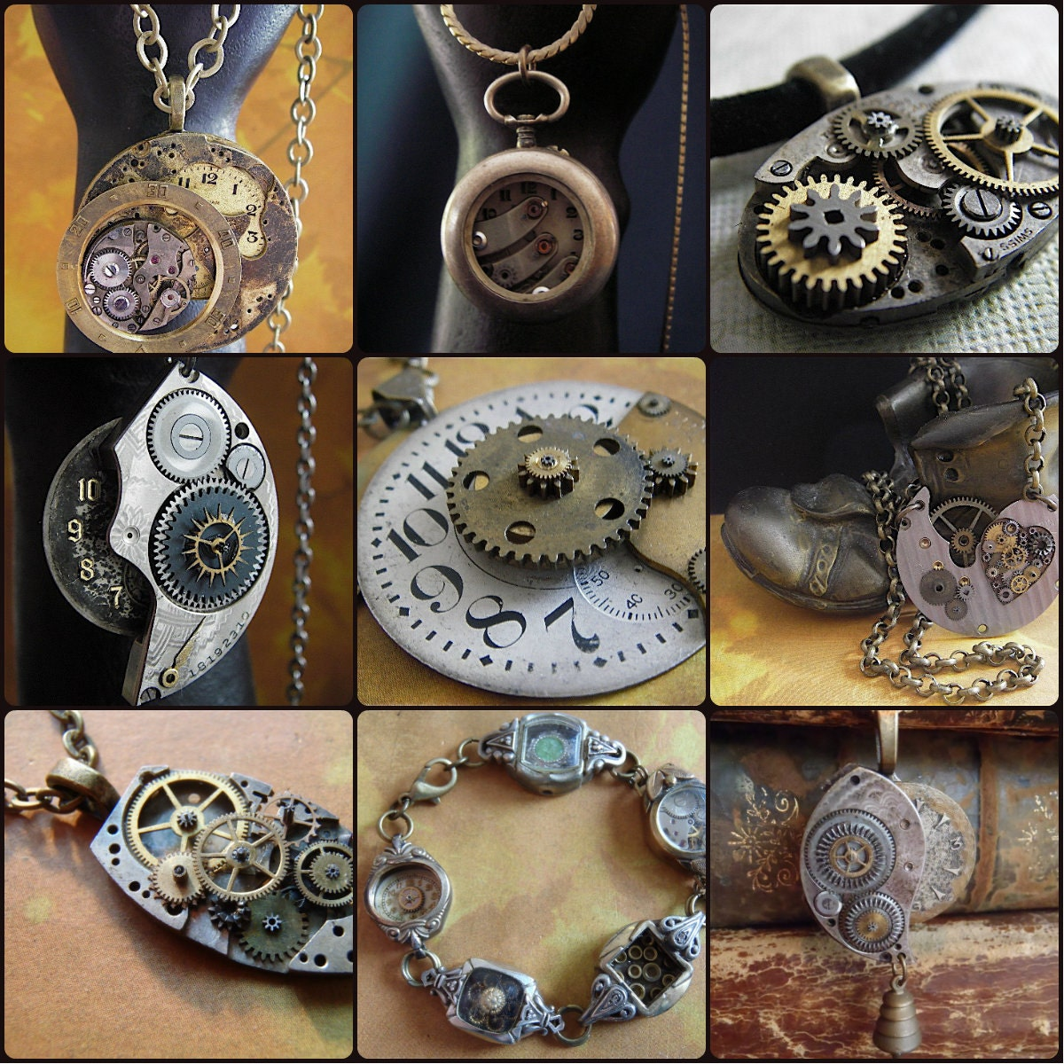 Is Steampunk Jewelry A Craft Or An Art: How To Create Steampunk Jewelry Tutorial DVD Set Steampunk