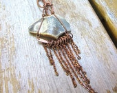 Divine Copper Jellyfish Necklace
