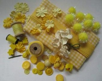 Lemony Yellows Creative Inspiration Artpack