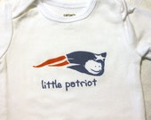 Little Patriot Baby Bodysuit (sizes newborn to 24 months)
