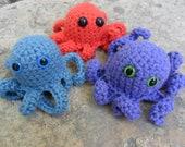 Crochet Pattern- Little Octopus Creature.