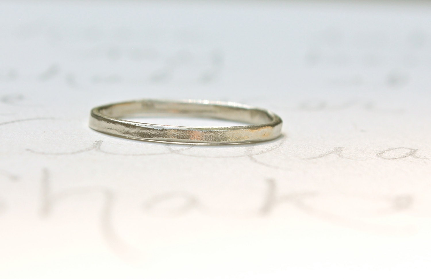 white gold womens wedding band dainty by