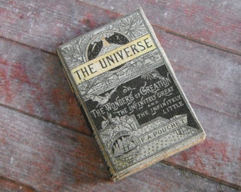 Miniature Book --- Victorian History of the Universe