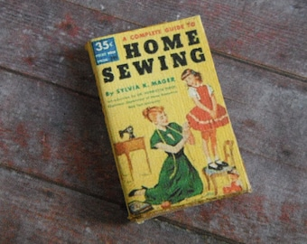 Miniature Book --- Complete Guide to Home Sewing