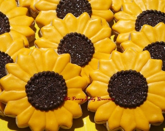 Sunflower Cookies 1 dozen
