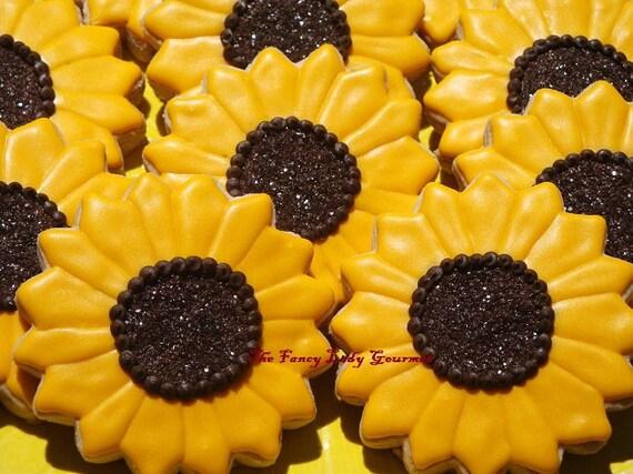 Sunflower Cookies 1 dozen