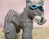 Lampwork Glass Sculpture Horse Focal Glass Bead by Izzybeads SRA UK Lampwork