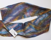Winter Mist Jacquard Silk Scarf