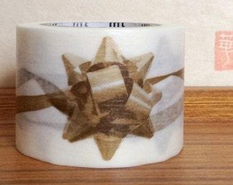 SALE - mt washi masking tape - mt ex - ribbon - gold