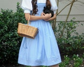 Dorothy Gale Inspired Dress