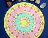 Sun Moon Mandala Altar Cloth