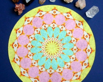 Sun Moon Mandala Altar Cloth
