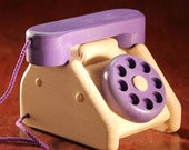 Pretend Rotary Telephone Toy