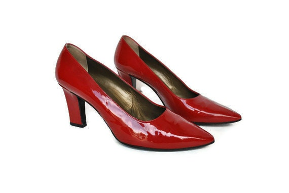 RESERVED for Salina.... YSL High Heels / Yves Saint Laurent 80s pumps / size 8