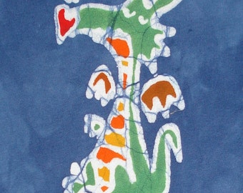 Dragon Baby Tee Shirt Batik Baby Clothes Puff the Magic Dragon CUSTOM