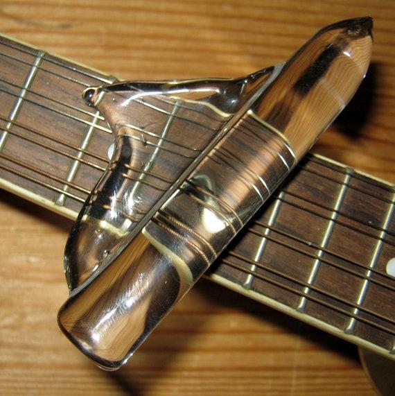 dobro slide with dorsal fin grip handmade guitar by petrichorarts. Black Bedroom Furniture Sets. Home Design Ideas